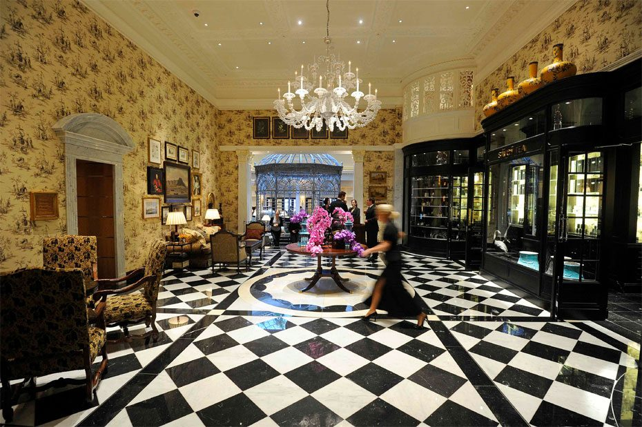 Iconic Hotels In London Like The Savoy And The Ritz