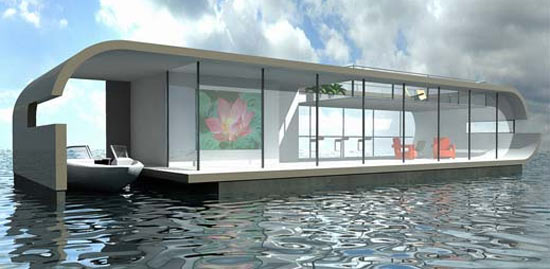 Floating Houses Waternest 100 Designed By Giancarlo Zema