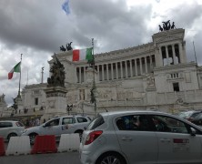 Extravagant ambience in Rome