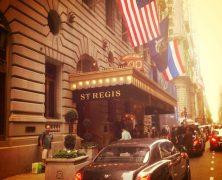 Big apple – St. Regis / New York